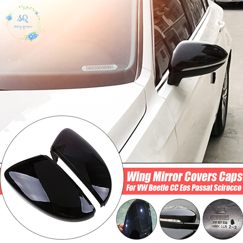 New Mixed Color Left Side Wing Mirror Cover for VW EOS Beetle Passat CC Jetta
