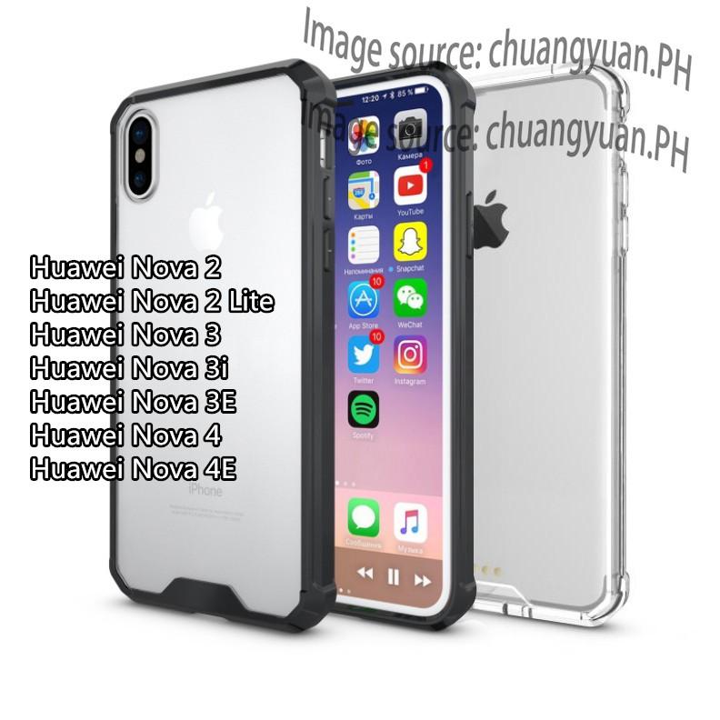 Huawei Nova 2/Nova 2 Lite/Nova 3/Nova 3i/Nova 3E/Nova 4/Nova 4E Crystal  Protector Phone Hard Case