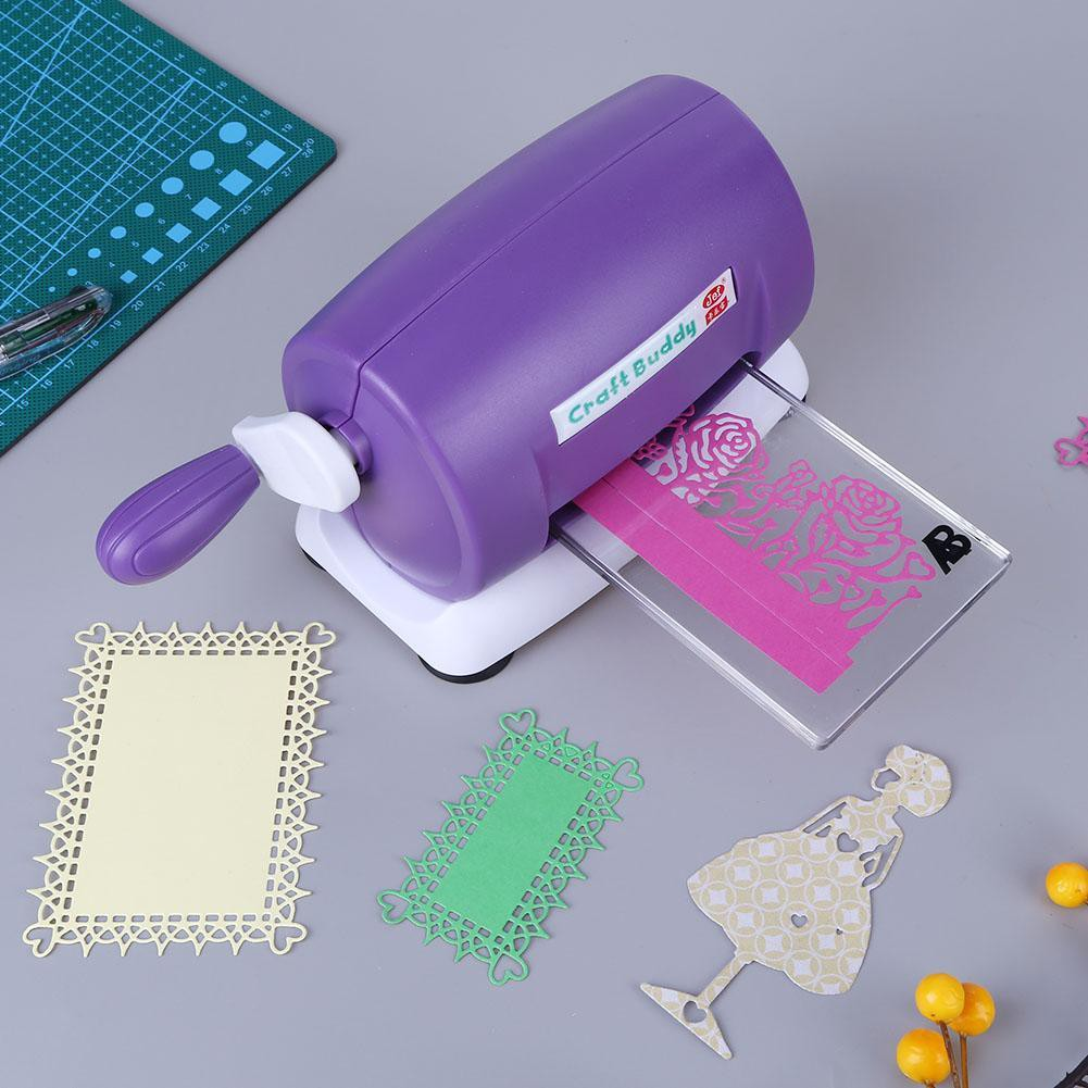 PURPLE 5 X 2 WAY EMBOSSING TOOLS,IDEAL FOR CRAFTS SCRAPBOOKING