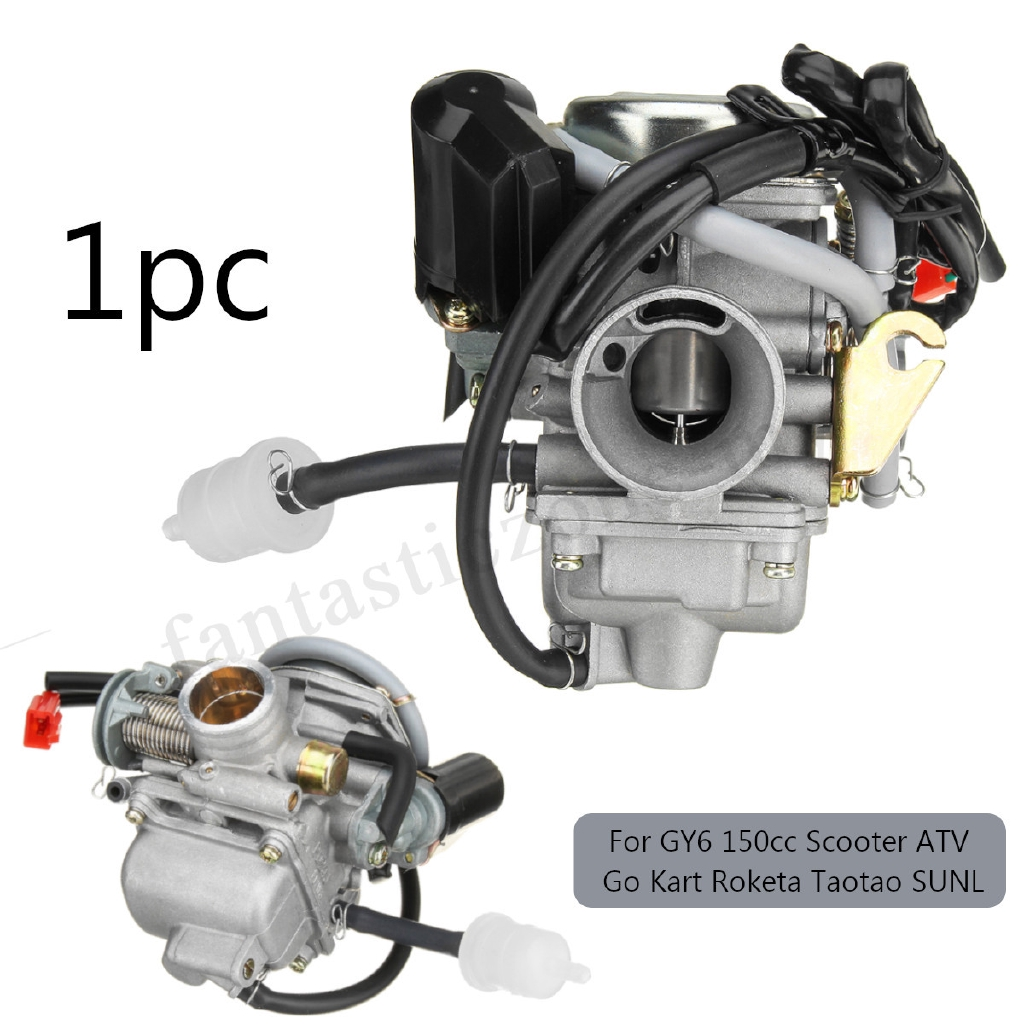 GY6 PD24 110cc 125cc 150cc Carburetor Carb For Moped Go Kart