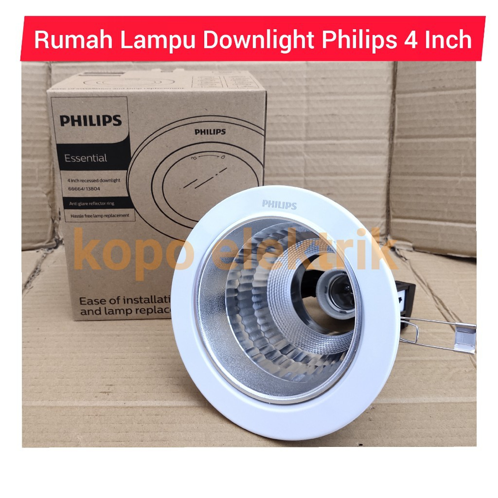Philips Downlight 4 4 Inch Quot Shopee Philippines