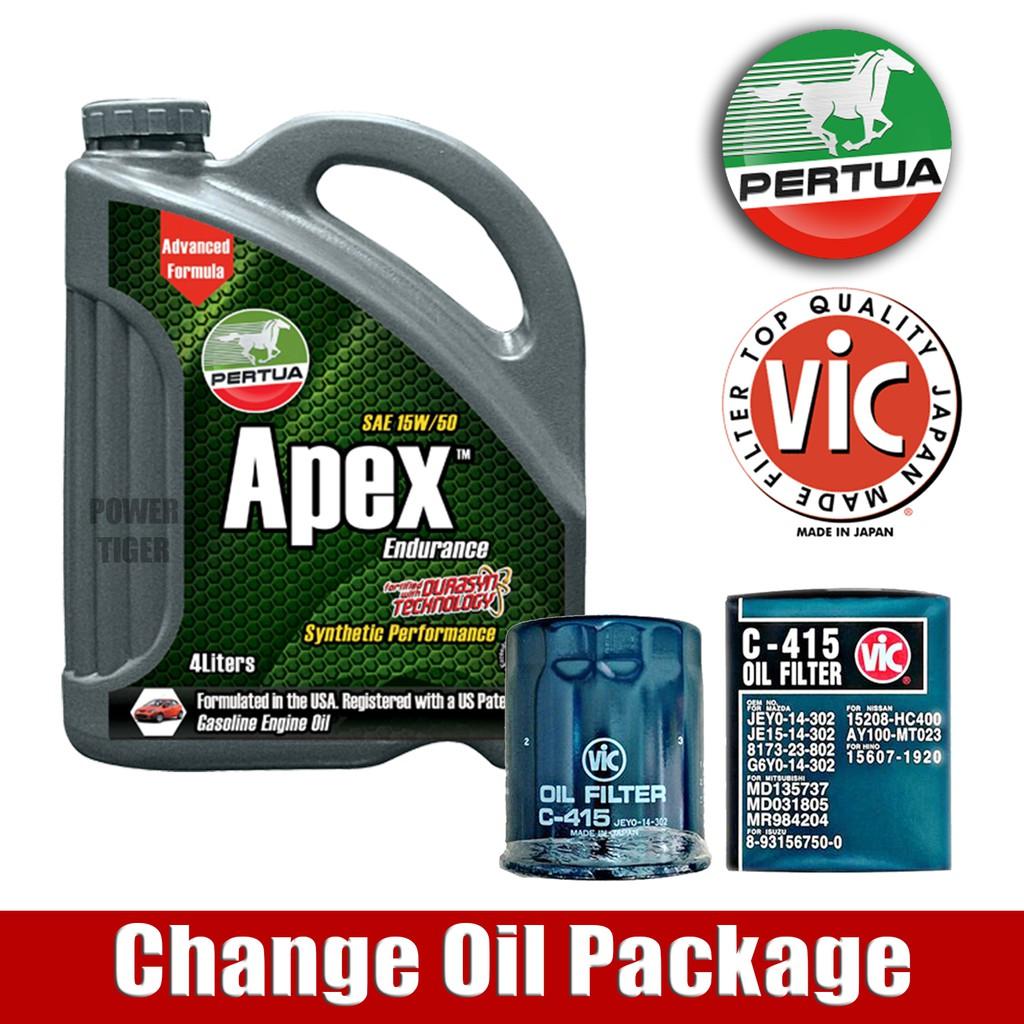 Regular Change Oil Package For Pajero Montero Sport 3 2 Shopee