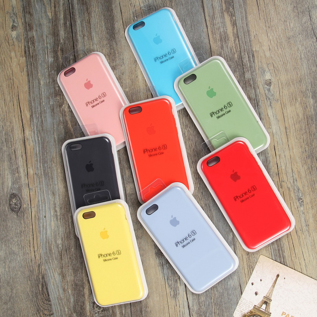 pretty nice 1b87a c197a Real Liquid silicon high quality case for iphone 6 6s Plus
