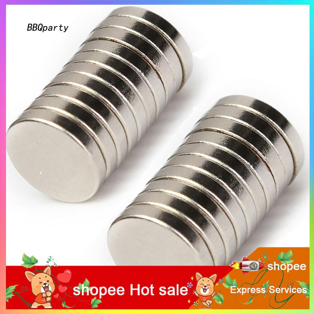 50 Pcs N50 D10x3mm Strong Ring Magnets Rare Earth Neodymium Round Super Strong