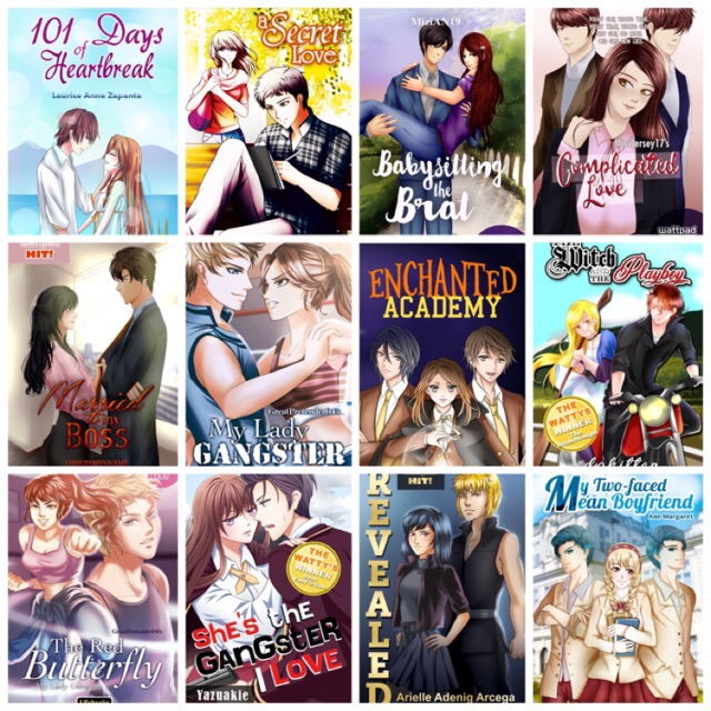 Wattpad Pop Novels - Tagalog Fiction