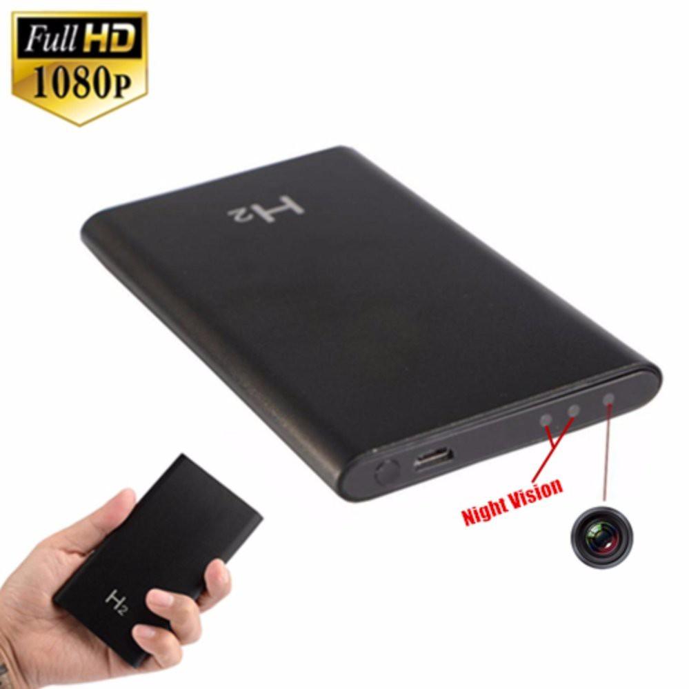 HD 1080P Recorder Camera Durable Mobile Power Bank Camera H2 Video Webcam