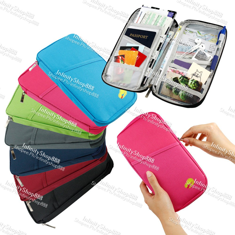 Geeka-Travel Credit Card Passport Protective Cover Holder   Shopee Philippines