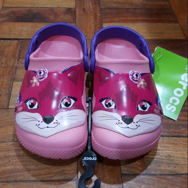 35568478b2301 original crocs pony fox clog girls
