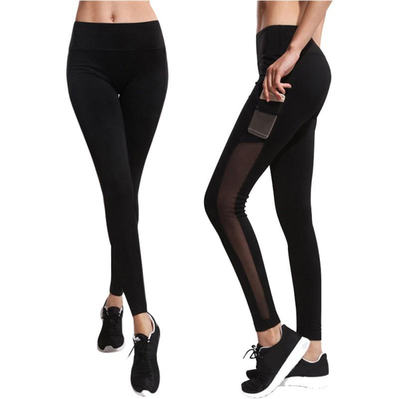 Women Yoga Pants Leggings Trousers Workout Running Fitness