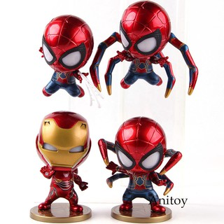 Below SRP Bobble Head Spiderman and Deadpool Toys | Shopee Philippines