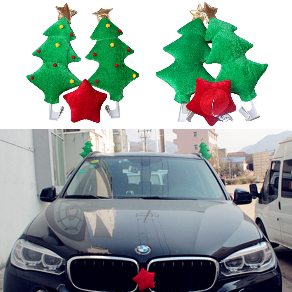 Car Christmas Tree.Party Supply Gifts Car Decoration Christmas Tree Ornaments