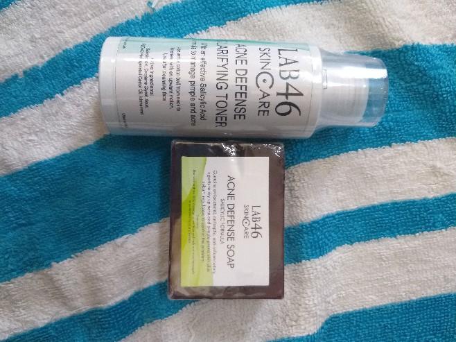 Lab46 Lab 46 Acne Defense Bar Soap With Salicylic Acid Shopee Philippines