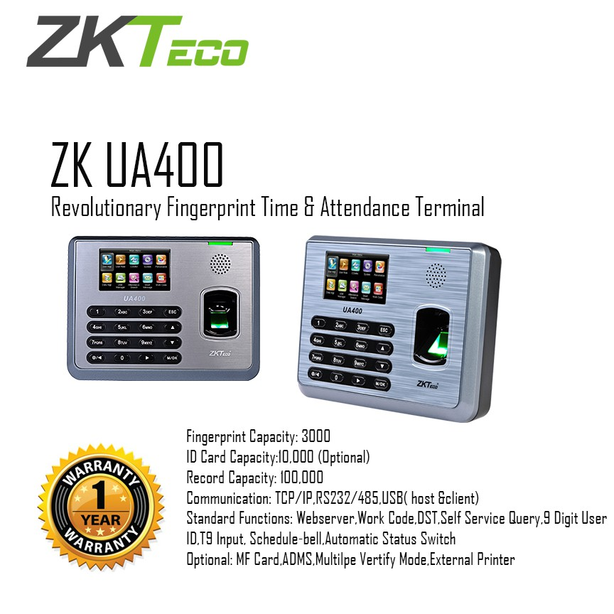ZKTeco | ZK UA400 | Access Control