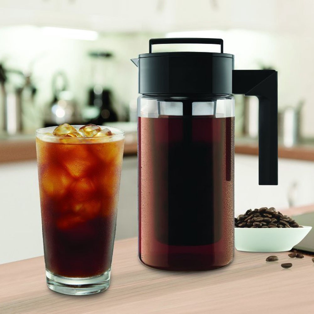 Image result for 900ML Cold Brew Iced Coffee Maker Airtight Seal Silicone Handle Coffee Kettle