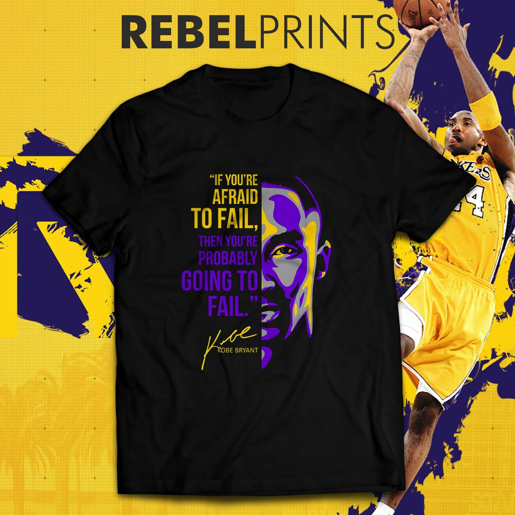 Kobe Bryant Black Mamba Quote Unisex T-Shirt
