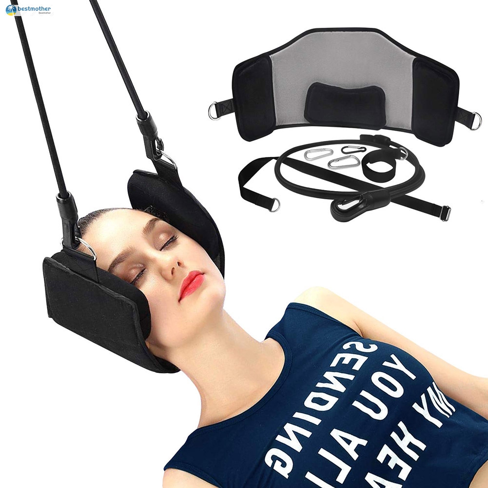 Neck Stretcher Hammock Portable Head Support Pain Relief Cervical Relaxation Stretcher
