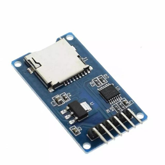 Micro SD Module SPI Interface Mini TF Card Reader Arduino