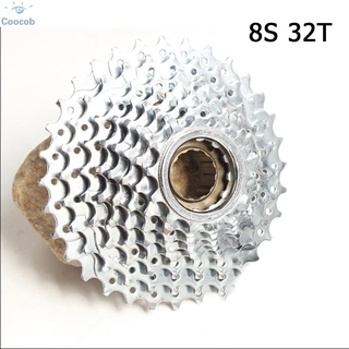 Bicycle Wheel Front Rear Solid Hub 44mm For Rotating Flywheel Cassette Disc