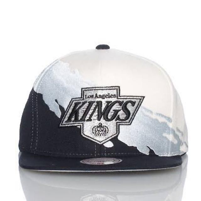 bd6199d0c NFL Los Angeles Kings Vintage Hat Paintbrush Snapback Cap