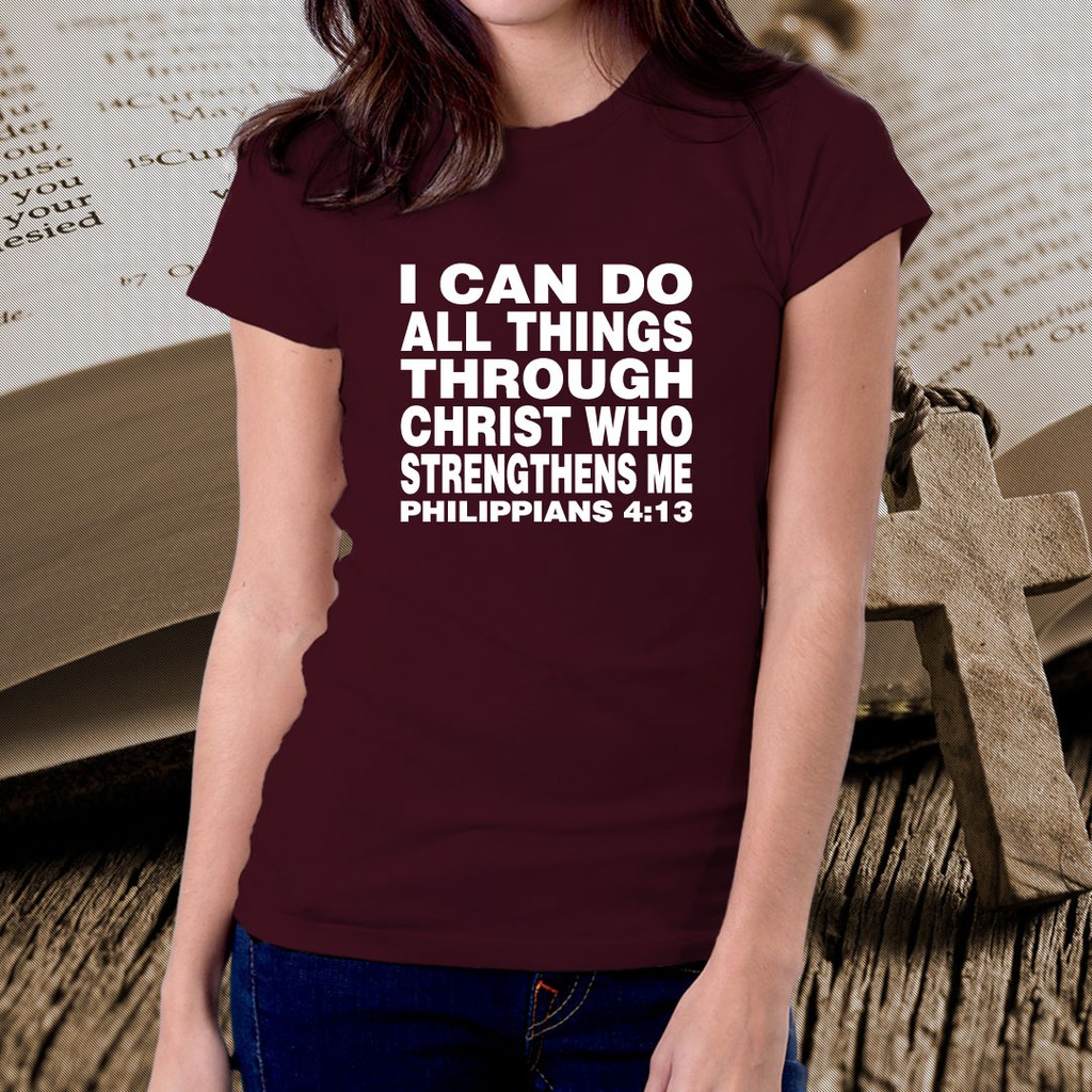 9041713daf0cd Bible Verse Scripture Christian Quotes Tshirt for Women 47