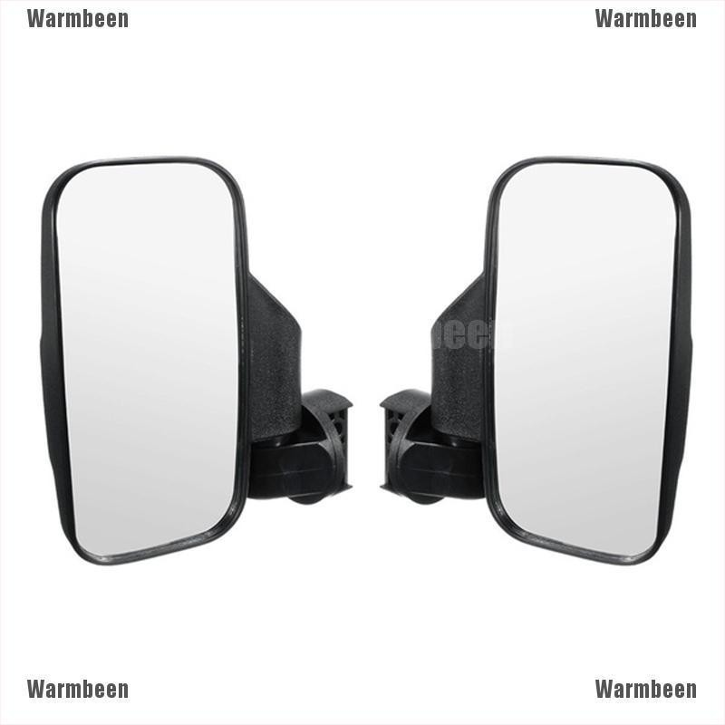 UTV Rearview Side Mirror And Center Mirror Set 1.75 2 Bar For Polaris RZR Ranger Rear And Side View Mirror