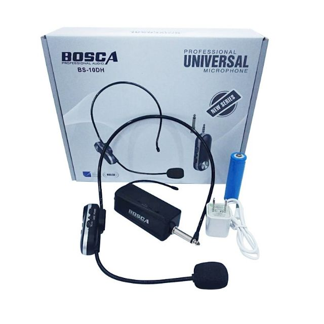 UHF Wireless Universal Lapel Microphone BS_10HD