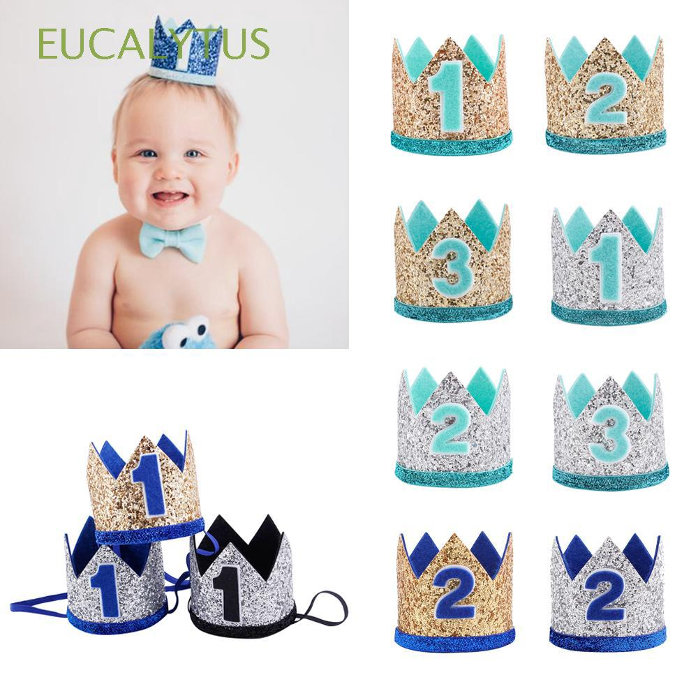 Jacobs Floral Baby Crown Hairband Birthday Headwear Photography Props Party Hat