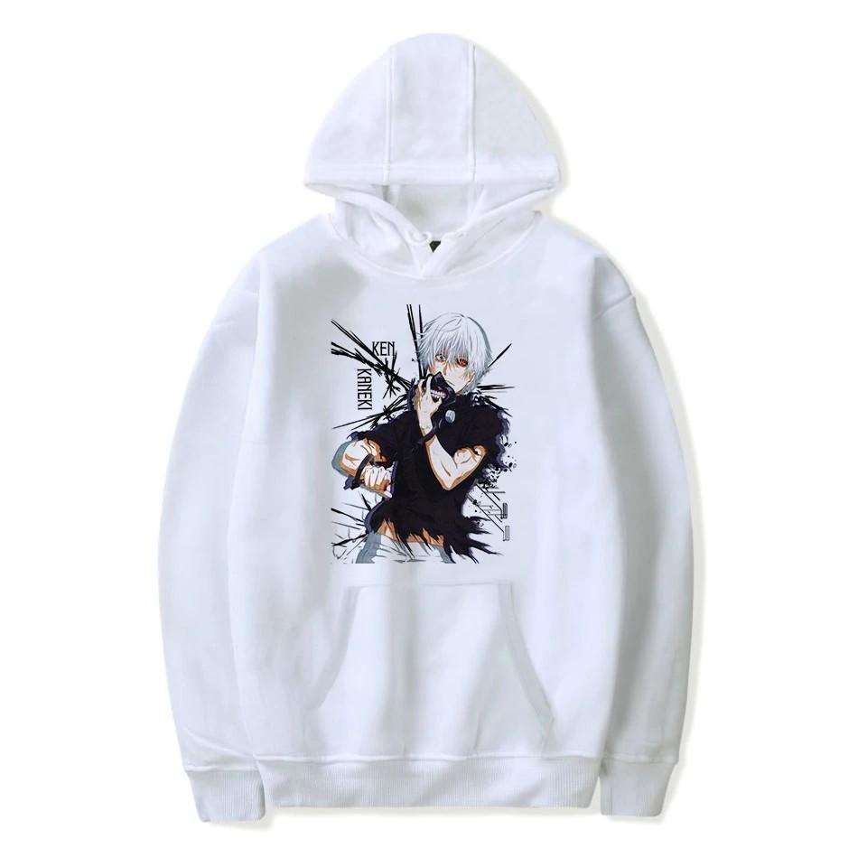 Tokyo Ghoul Kaneki Ken 3D Printed Hoodie Pullover Sweatshirt Hooded Men Sweater