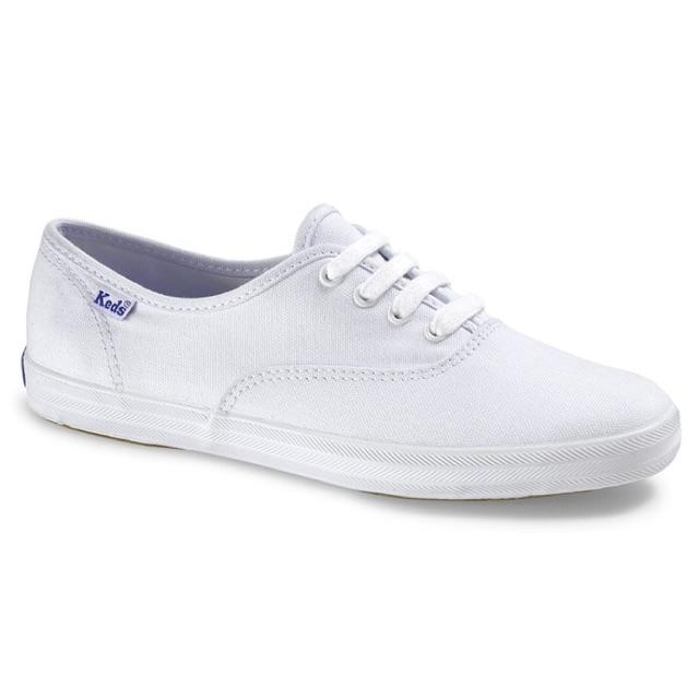 8169e72a4f2668 🔵 KEDS CANVAS WHITE SHOES