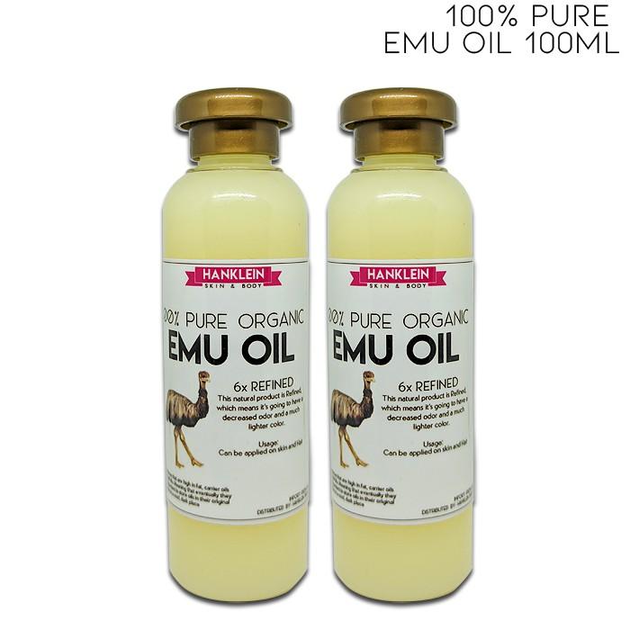100% Pure EMU OIL 100ml