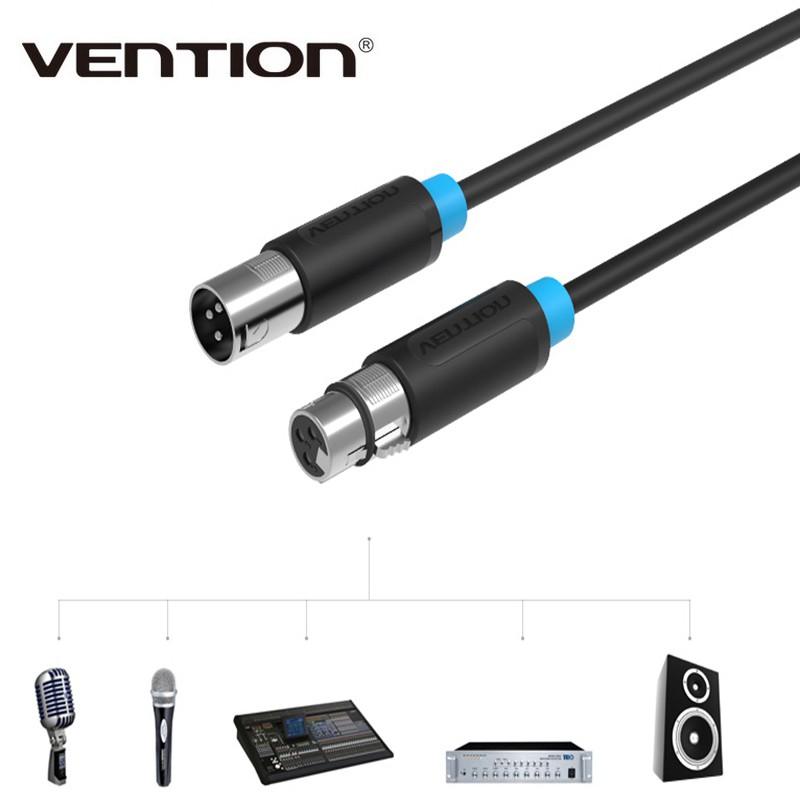 Vention XLR Cable Aux Cable Cannon Cable