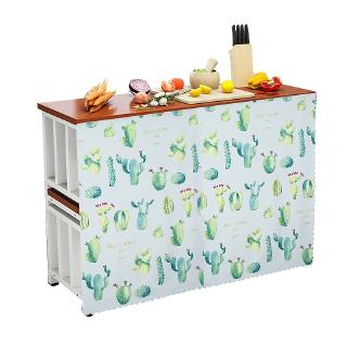 Spot kitchen cabinet door curtain cover curtain fabric ...