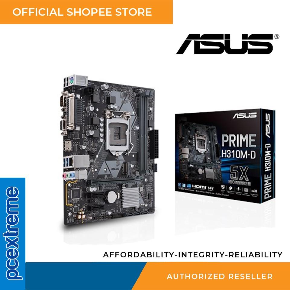 Asus Prime H310M-D Motherboard (8th Gen, LGA1151, DDR4)