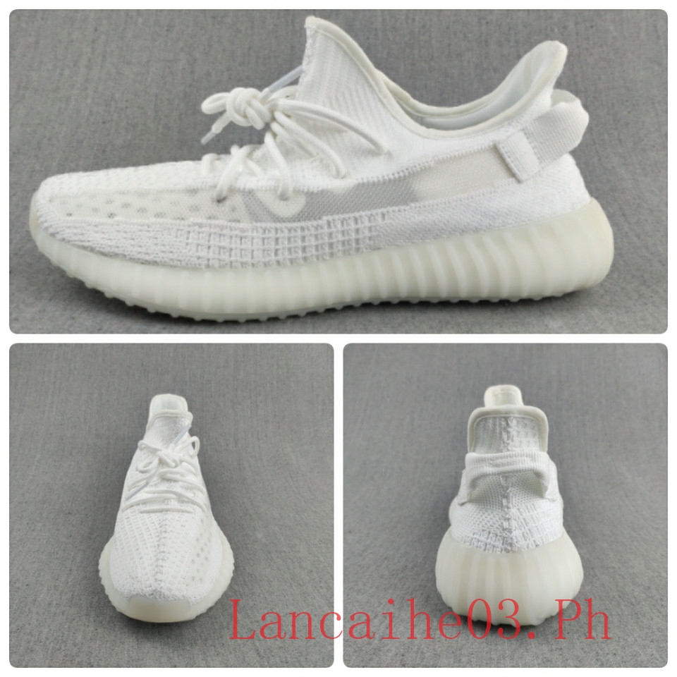 best sneakers 68959 77a09 Adidas Yeezy 350 Boost V2 Clay Coral All White Women Shoes