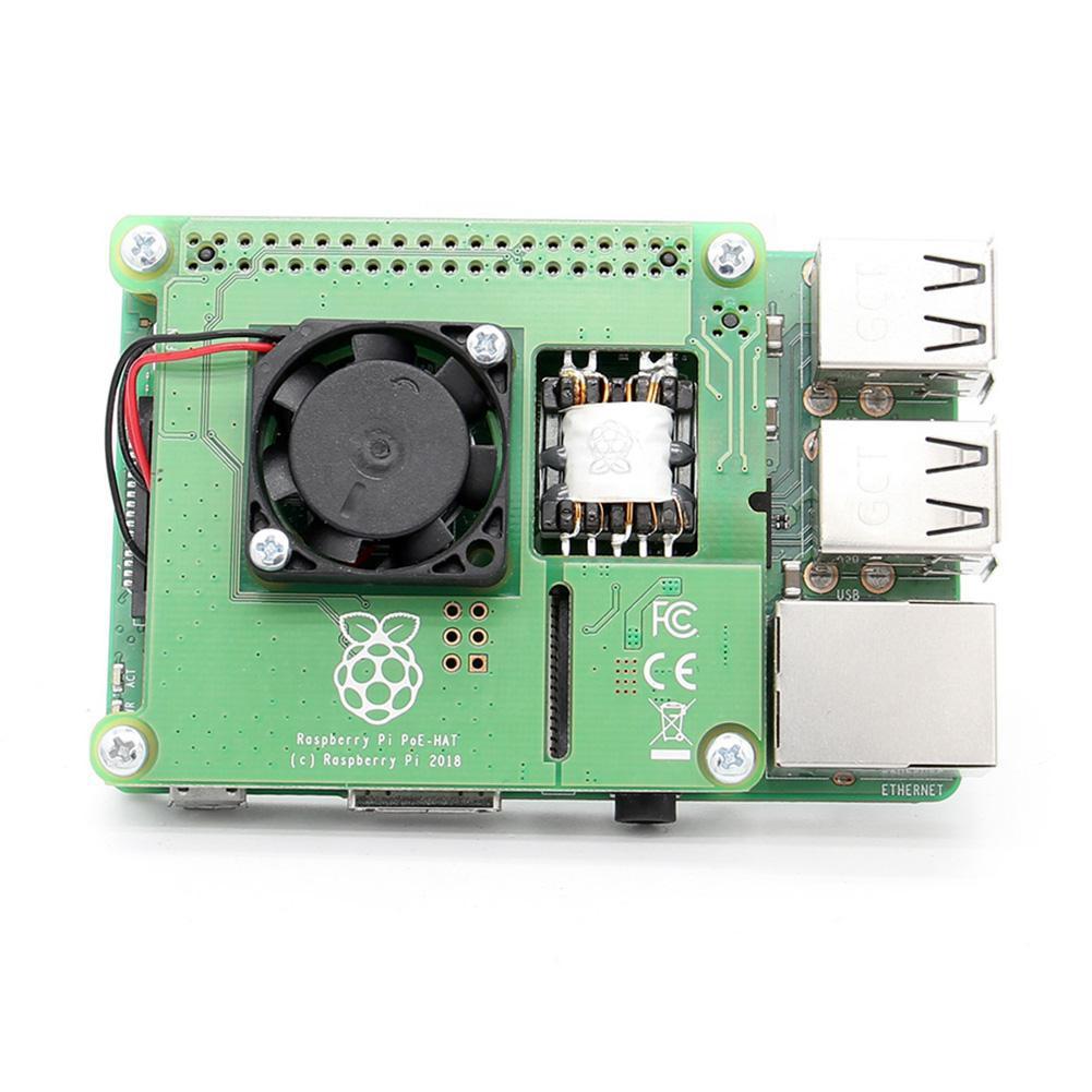 Raspberry Pi 3 B+ POE HAT IEEE802 3af 5V 2 5A Ethernet Expansion Board