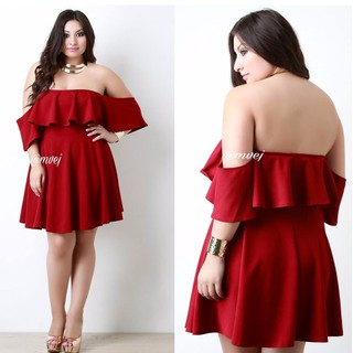 PLUS SIZE FLAWLESS DRESS | Shopee Philippines