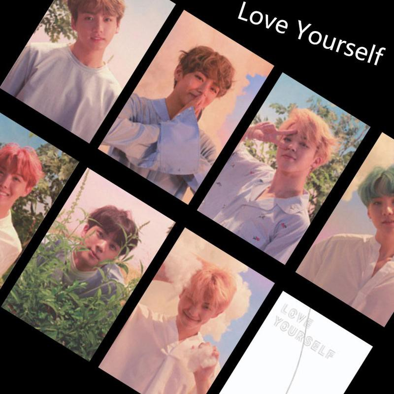 Beads & Jewelry Making Nice Kpop Bts Suga Personal Lomo Photo Card Bangtan Boys Love Yourself Autograph Photocard Cards 1pc We Have Won Praise From Customers