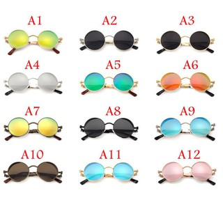 7c885d57a8 ... Vintage Polarized Steampunk Sunglasses Fashion Mirrored Retro Round  Eyewear. like  7