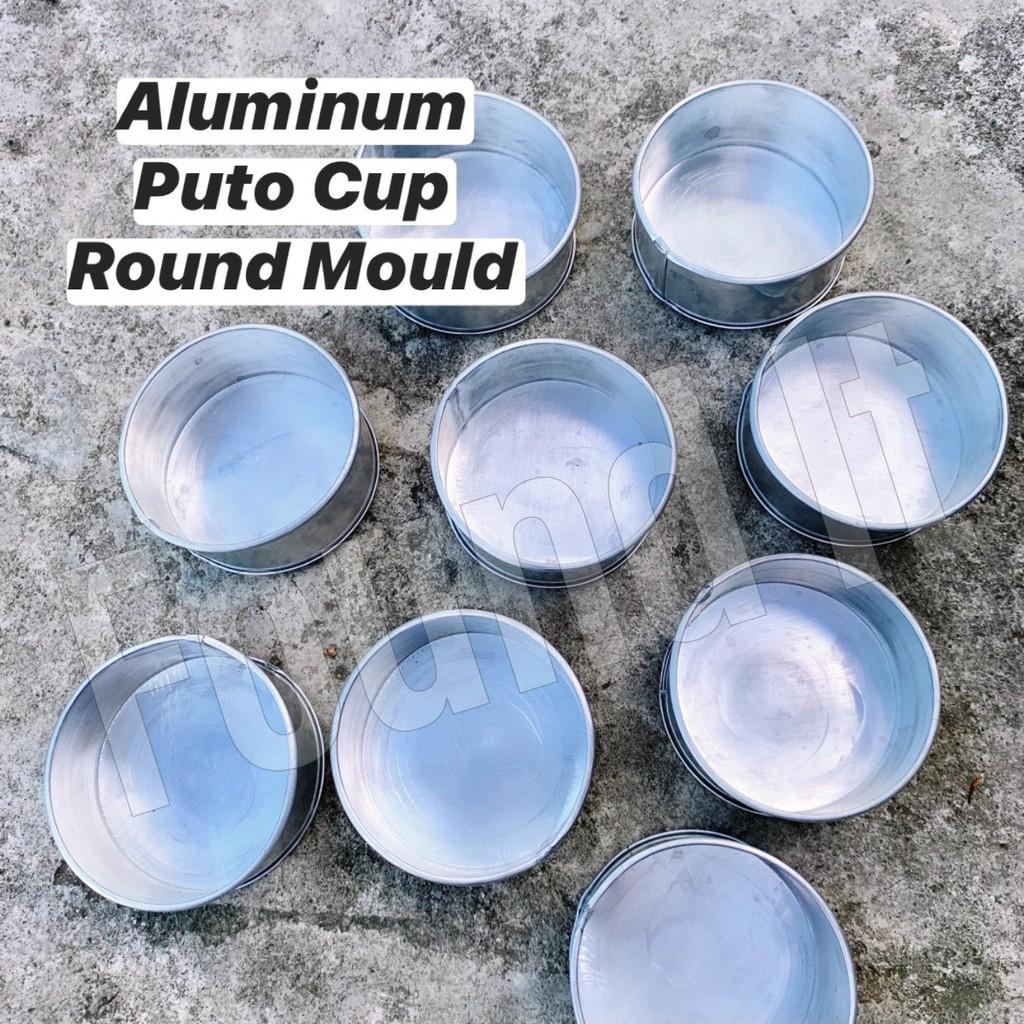 Aluminum Puto Cup Moulder / Aluminum Round Molder (per ...