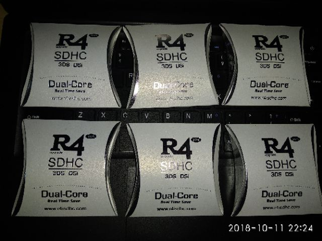 R4 DUAL CORE 2019 for NTRBOOT DS DSi 2DS 3DS 8GB / 16GB R4i