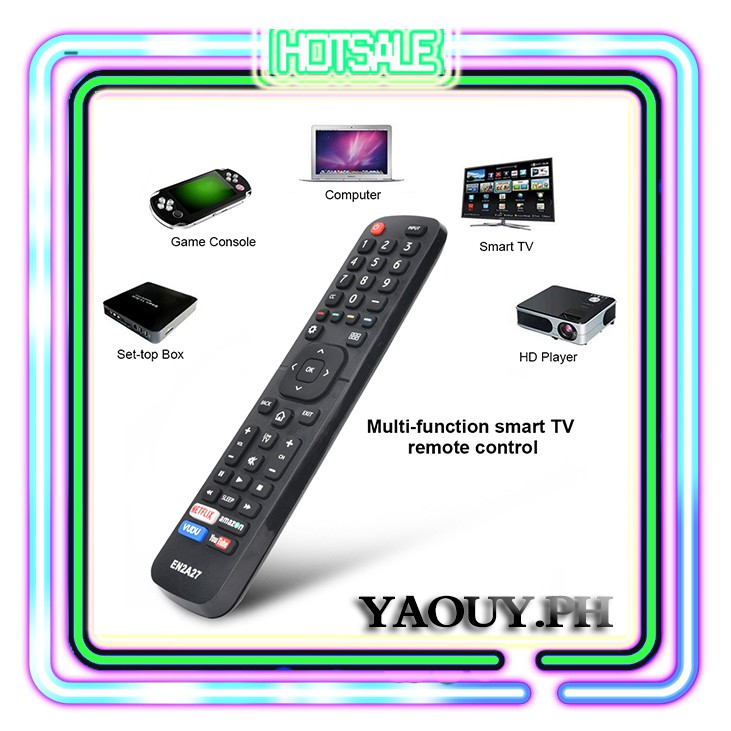 Remote Smart EN2A27 Hisense Control For EN2A27 LED TV HDTV