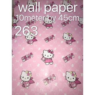 Hello Kitty Cartoon Character Diy Wallpaper Code 263 Shopee