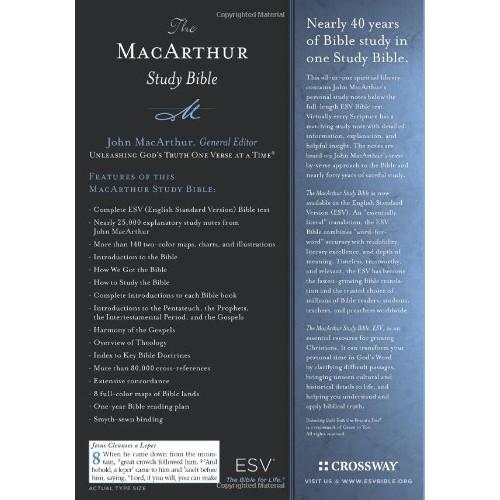 ESV Study Bible, Personal Size The MacArthur Study Bible Trutone