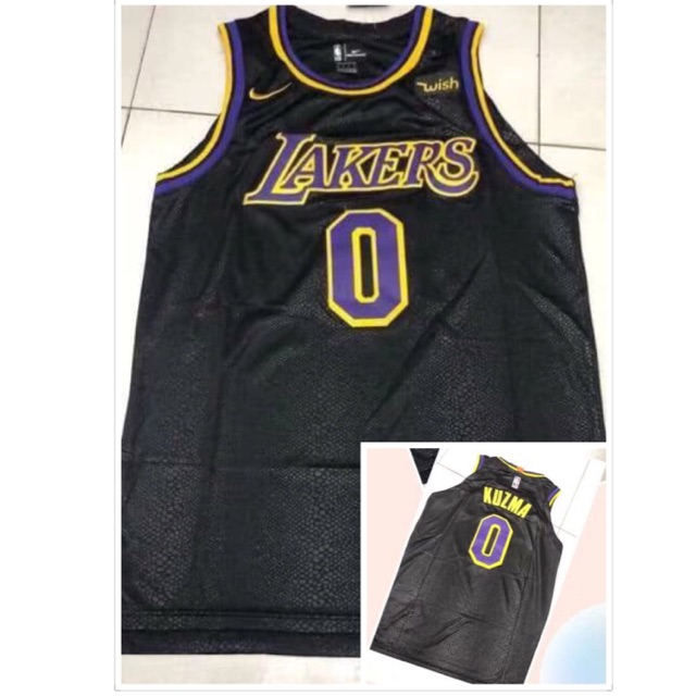 online store eca3e 88737 New edition in 2019 NBA LAKERS #0 KUZMA