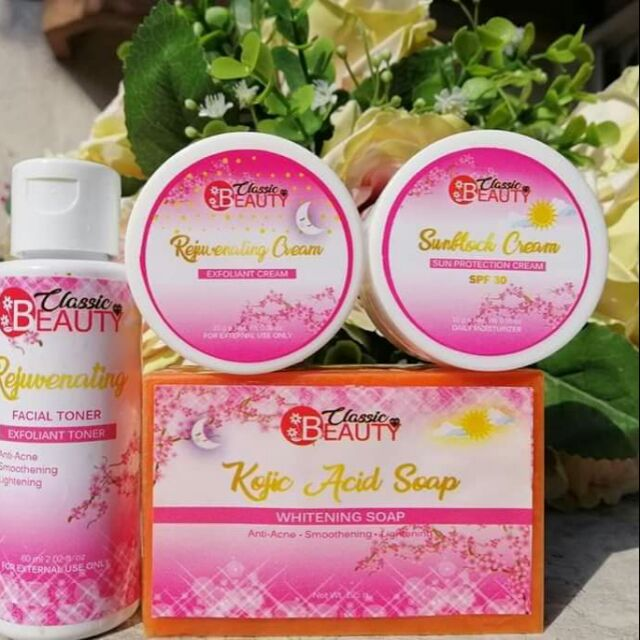 Classic Beauty Rejuvenating Set Shopee Philippines