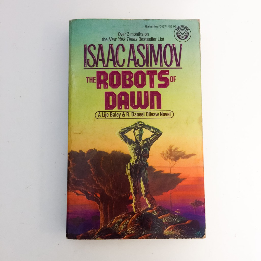 ISAAC ASIMOV BOOKS — The Robots of Dawn, Sci-fi Science Fiction Preloved  Novel