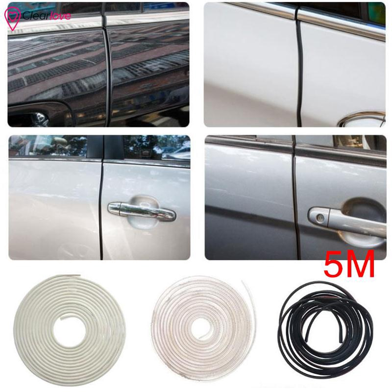 16FT Clear Moulding Trim Strip Car Door Edge Scratch Guard Protector Strip Roll