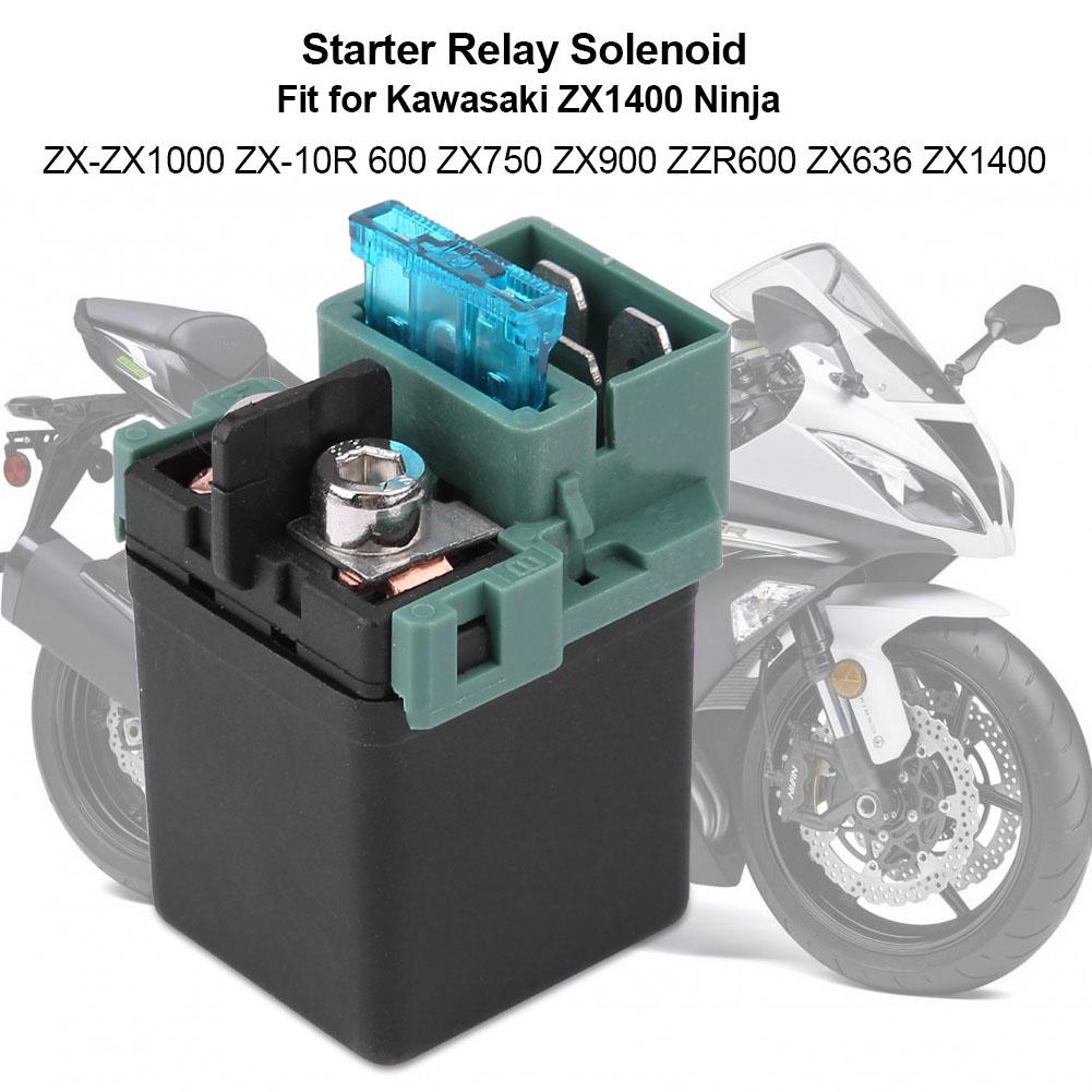 For Starter Relay Solenoid FITS KAWASAKI ZX636 NINJA ZX-6R 2003 2004 Motorcycle