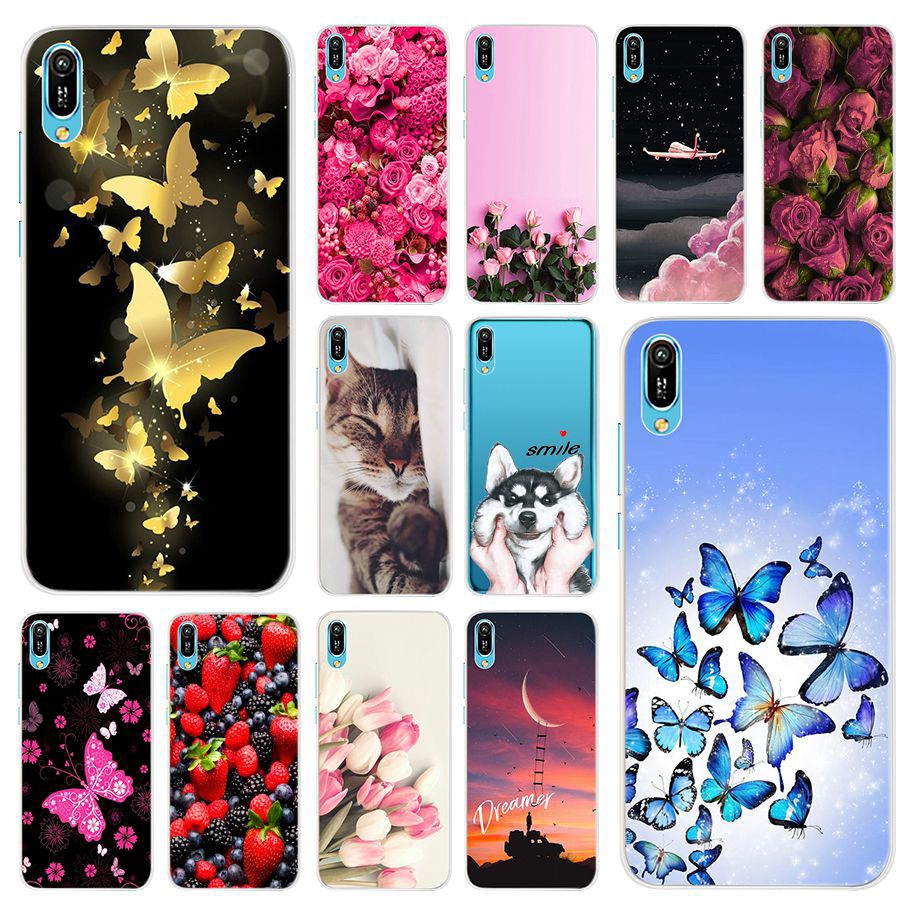 Huawei Y6 Pro 2019 Case Cute Printed Cover Huawei Y6 Pro Y6Pro 2019 Soft TPU Phone Case Casing Ready Stock