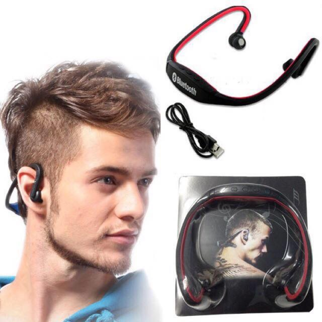 BS19C Sports Bluetooth headset。